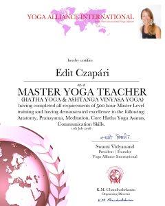 master yoga teacher